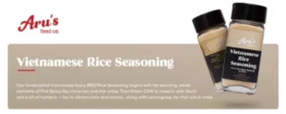 Aru's food co. - Vietnamese Rice Seasoning