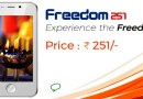 Ringing Bell Disclosed the Secret behind Freedom 251's  Price