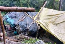 Photo of Army Busted NDFB(S) camp in deep Jungle