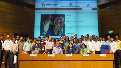 "Photo of Maneka Sanjay Gandhi launched ""Mahila e-Haat"",  an online marketing platform for women"