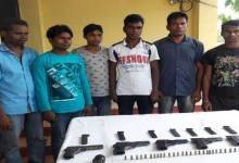 Photo of Indian Army Apprehended Six  AANLA Cadres from Karbianglong