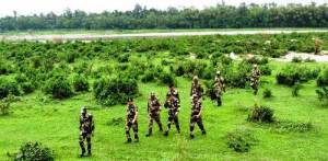 Director General BSF, K K Sharma Visits Meghalaya Frontier