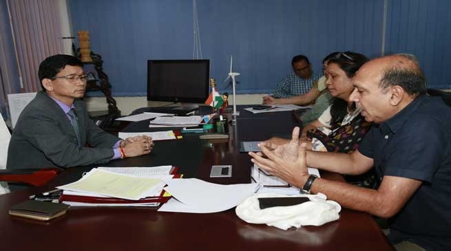 CMD NHIDCL calls on CM Kalikho Pul to apprise on ongoing road projects
