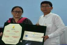 Photo of Pul Announced a Cash Award of Rs 3 lakhs to Namne Mena