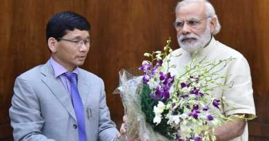 Chief Minister Kalikho Pul met with Modi and Rajnath