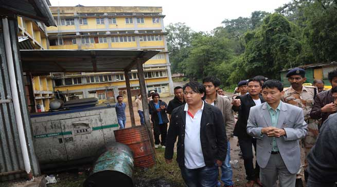 Pul visited Old AP Secretariat building in Shillong