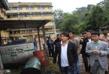 Pul visited Old AP Secretariat building in Shillong