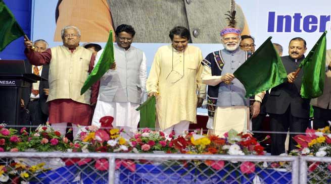 PM Modi Flags Off Three New Trains