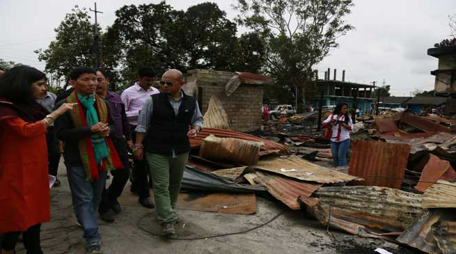 Pul Hands Over Rs 31 Lakhs for the Pasighat Fire Victim