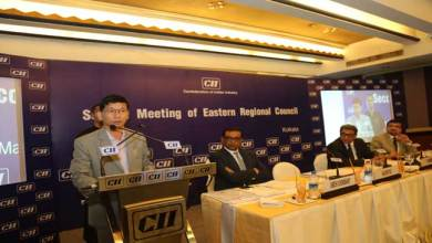 Photo of Pul Addresses  CII Eastern Regional Council Meeting