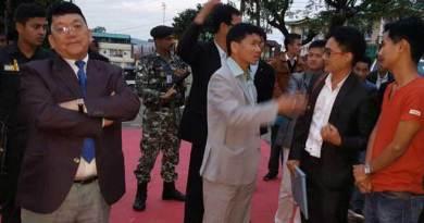 CM Pul visits Arunachal Bhawan in Shillong