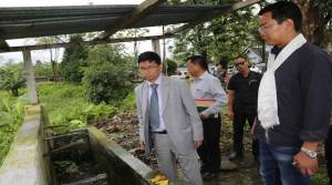 Chief Minister Kalikho Pul inspects GHHS Tezu