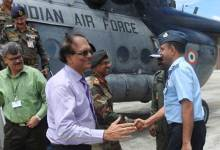 Photo of Defence Secretary G Mohan Kumar Visits the Gajraj Corps