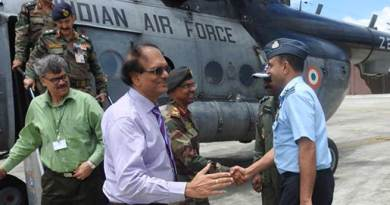Defence Secretary G Mohan Kumar Visits the Gajraj Corps
