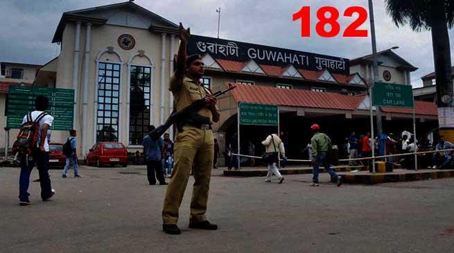 New Toll-free Helpline Number-182 for Railway Passengers