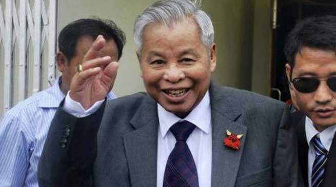 Naga Leader Isak Chishi Swu is no more