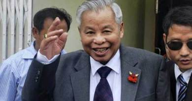 Naga Leader Isak Chishi Swu is no more