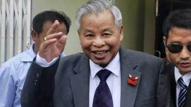 Photo of Naga Leader Isak Chishi Swu is no more
