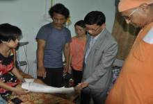 Photo of Pul meet with Accident Victims at Ramakrishna Mission Hospital