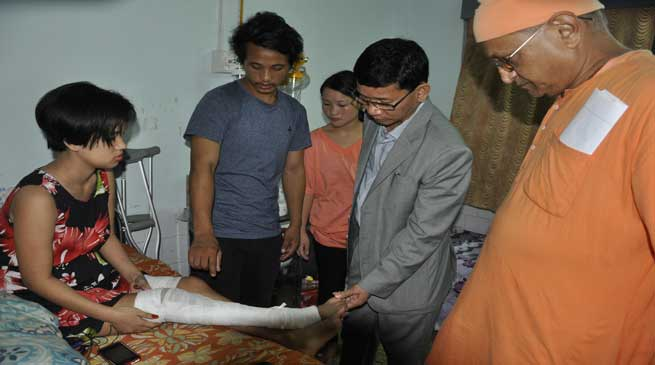 Pul meet with Accident Victims at Ramakrishna Mission Hospital
