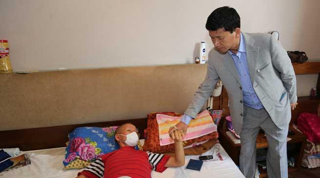 Pul Meet with Arunachali patients at Arunachal Bhawan in Mumbai