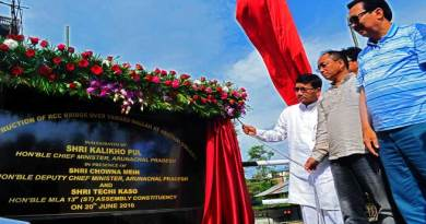 Pul inaugurates Abotani bridge