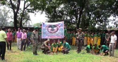 Army's Mega Plantation Drive in Chirang