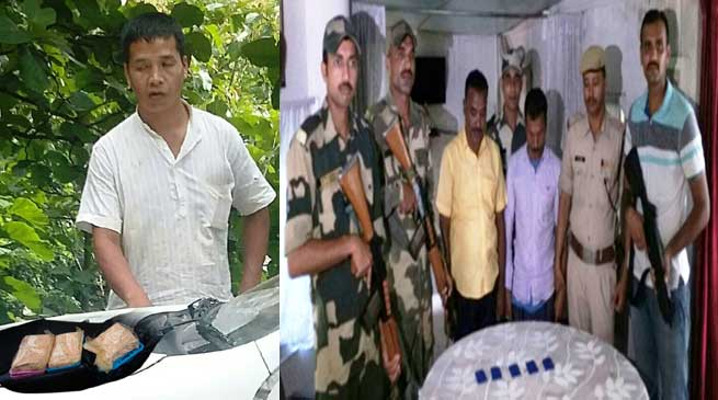 BSF Seized Methamphetamine Tablets, Heroin, Cattle Heads