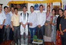Photo of TBS & IBSC Members meet with CM, Dy CM