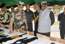 Photo of Meghalaya's Governor visits BSF's Out Post Shella