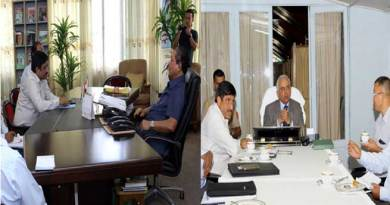 NFR GM Meets with Governor and CM Of Mizoram