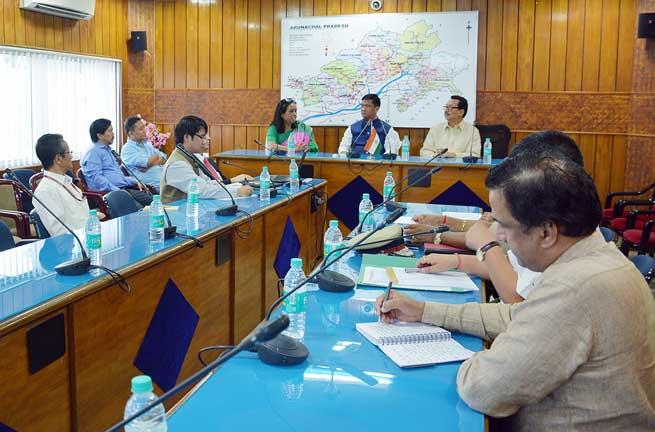 """Team Arunachal"" will be The Core Team for Development of State - Pema Khandu"