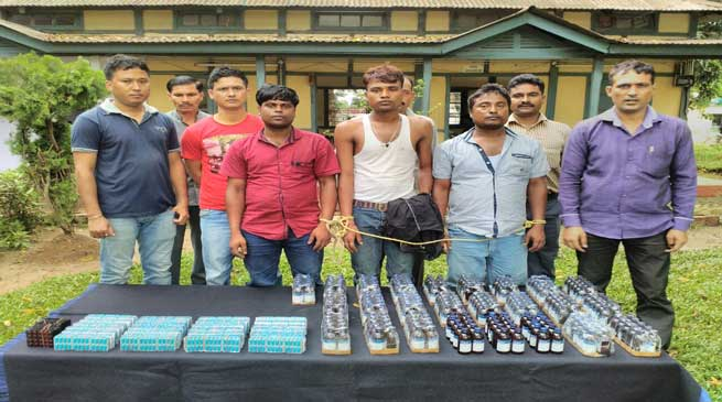 BSF Seized Contraband Medicines from Dhubri