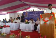 Photo of Prabhu Lays Foundation Stone of Imphal Railway Station