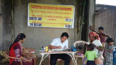 RKMMS Organised Free Health Camp at Chamro Village