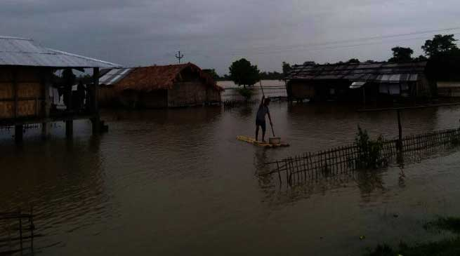 Tai Khampti Singpho Council Takes Stock of the Flood Situation in Namsai