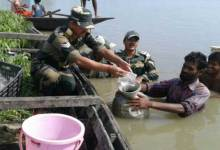 Photo of BSF Came Forward to Provides Relief to Flood Affected People