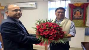 Khandu met with Country's Premier Business Association in New Delhi