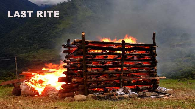 Photo Fearure- Last Rite of Late Kalikho Pul