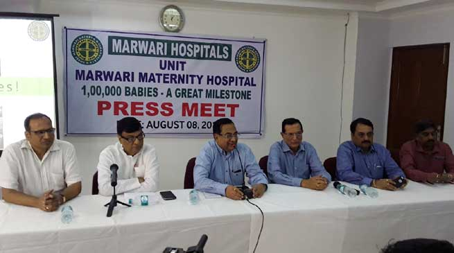 Marwari Maternity Hospitals Sets New Record with 1 Lac Babies Birth