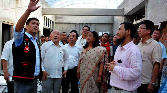 Civil Secretariat and Assembly Buildings are the priority schemes- Khandu