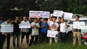 protest-in-Itanagar