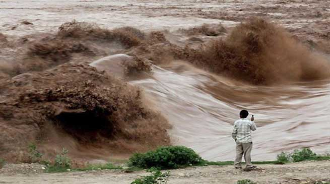Khandu Expresses Concern over Flood in Mechuka Valley