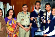 Photo of BSF Sr. Secondary School  Shillong Wins Quiz Competition
