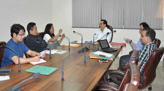 Dy CM Chowna Mein Convened Preliminary Meeting on GST