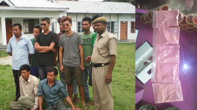 Namsai- Two Drug Pedllers caught from Enthem Village