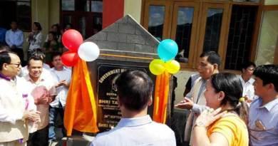Tapuk Taku inaugurated Govt. Model Degree College Seppa