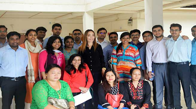 IAS Probationers Visits Capital Complex as Part of their Training