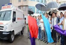 CM Pema Khandu flags off 16 Ambulances from Tomo Riba State Hospital