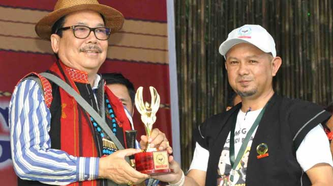 Pasighat- Dy CM Chowna Mein Took Part in Solung Celebration